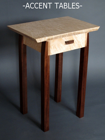 Our small wooden accent tables and side tables are the perfect finishing touch for your living space.  end tables, side tables, coffee tables and accent furniture