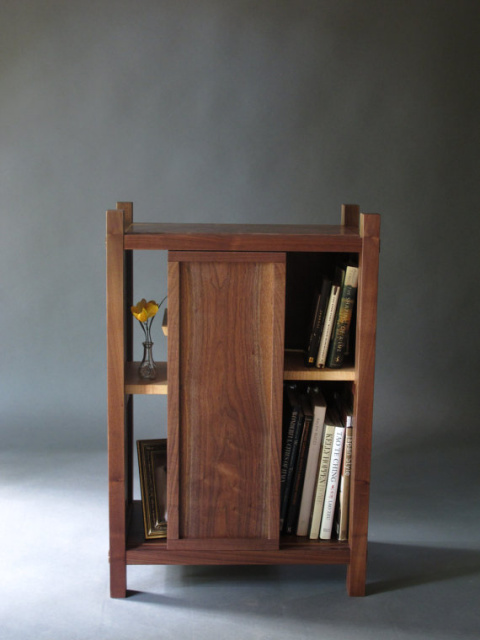 Entry Cabinet, Entry Storage, Midcentury Modern entryway decor, Handmade  custom wood furniture, - Solid Wood Bookshelves, Wood Coffee Tables With Storage, Entry