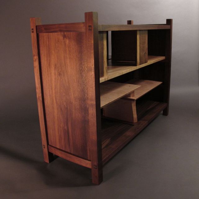 Tv console cabinet- a modern wood console for your entertainment center and display cabinet